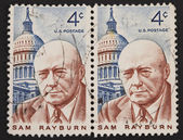 Sam Rayburn postage stamp — Stock Photo