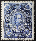 UNION OF SOUTH AFRICA-CIRCA 1910: Postage stamp of the Union of — Stock Photo