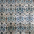 Beautiful ancient colorful tiles — Stock Photo