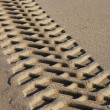 Royalty-Free Stock Photo: Tire tracks