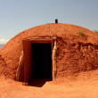 Unique clay hut — Stock Photo
