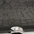 Stock Photo: Vietnam war memorial