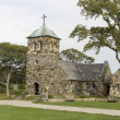 St Anne church in Kennebunkport - Stock Photo