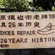 Shoe repair - Stock Photo