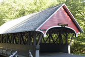 Covered bridge in Vermont — Stock Photo