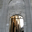 Arched entrance of mosque - Stock Photo