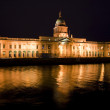 Custom house at night — Stock Photo