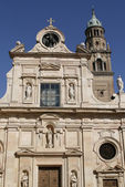 Church of St John the Evangelist in Parma — Stock Photo