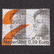 Postage stamp with image of the Dutch prince Alexander and prins — Stock Photo