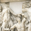 Frieze of the Pergamon altar - Stock Photo
