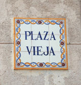 Plaza vieja — Stock Photo