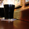 Irish stout beer — Stock Photo