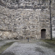 Courtyard of old Dublin prison Kilmainham — 图库照片