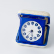 Vintage seventies alarmclock - Stock Photo