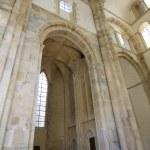 Interior abbey cluny — Stock Photo
