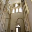 Interior medieval abbey cluny — Stock Photo