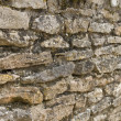 Medieval brick wall — Stock Photo