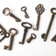 Vintage keys — Stock Photo