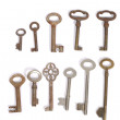 Vintage keys — Stock Photo #9067144