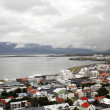 Reykjavik in Iceland near the bay — Stock Photo
