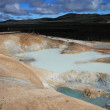 Stock Photo: Sulfur pool at Leirhnjukur, KraflIceland