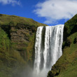 Skogafoss waterfall — 图库照片