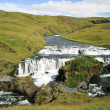 Top of skogafoss waterfalls — Stock Photo #9143775