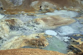 Geothermal landscape icedland — Stock Photo