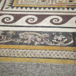 Ancient Greek mosaics - Stock Photo