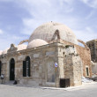 The Janissaries&#039; Mosque, beside the harbor in Hania, Crete - Stock Photo