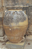 Ancient Minoan big pots from about 2000 BC — Stock Photo