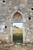 Ancient monastary in Crete — Stock Photo