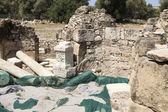 Excavations at Mitropoli in Crete near Phaistos — Stock Photo