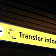 Transfer information - Stock Photo