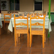 Outdoor restaurant in Spain — Stock Photo #9968483