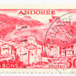 Postaghe stamp of andorra — Stock Photo #9972403