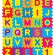 Alphabet Puzzle — Stock Vector