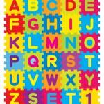Алфавита головоломки — Cтоковый вектор