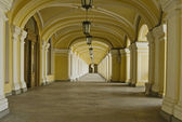 "Gostiniy dvor"" gallery, St.-Petersburg, Russia. — Stock Photo"