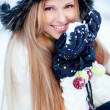 Winter girl — Stock Photo #8800317