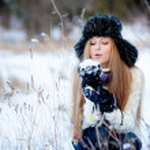 Winter girl — Stock Photo #8800593