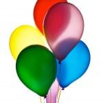 Six balloons — Stock Photo #8834832
