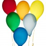 Six balloons — Stock Photo #8834851
