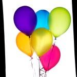 Six balloons — Stock Photo #8834881