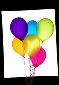 Altı balonlar — Stok fotoğraf