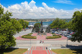 Nahimov Square in Sevastopol — Stock Photo