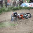 Motocross racer — Photo