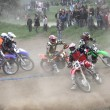 Motocross racer - Stock Photo
