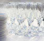 Clear glasses — Стоковое фото