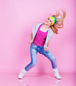 Dancing girl — Stockfoto